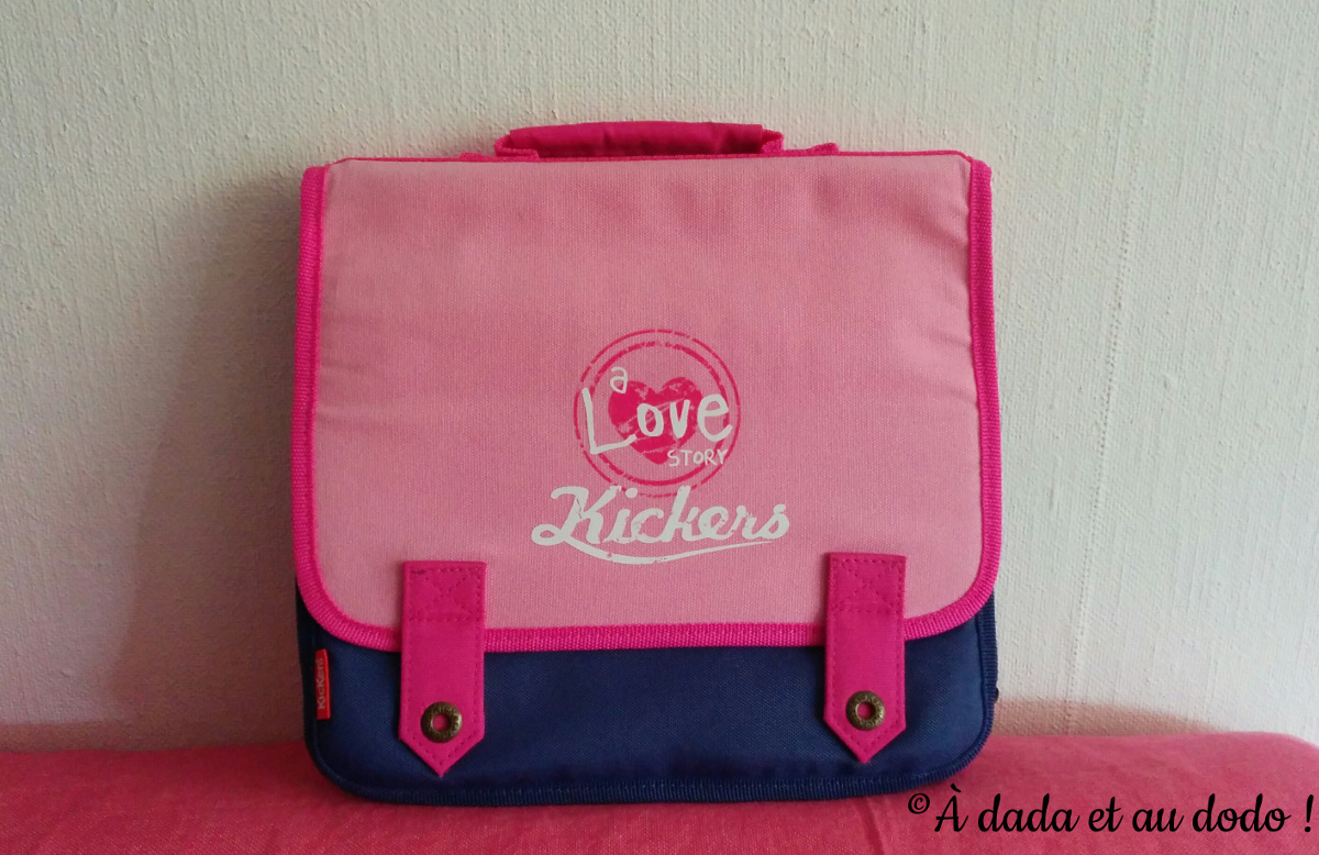 Cartable de maternelle : Kickers