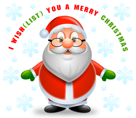 I Wish(list) you a merry Christmas - logo